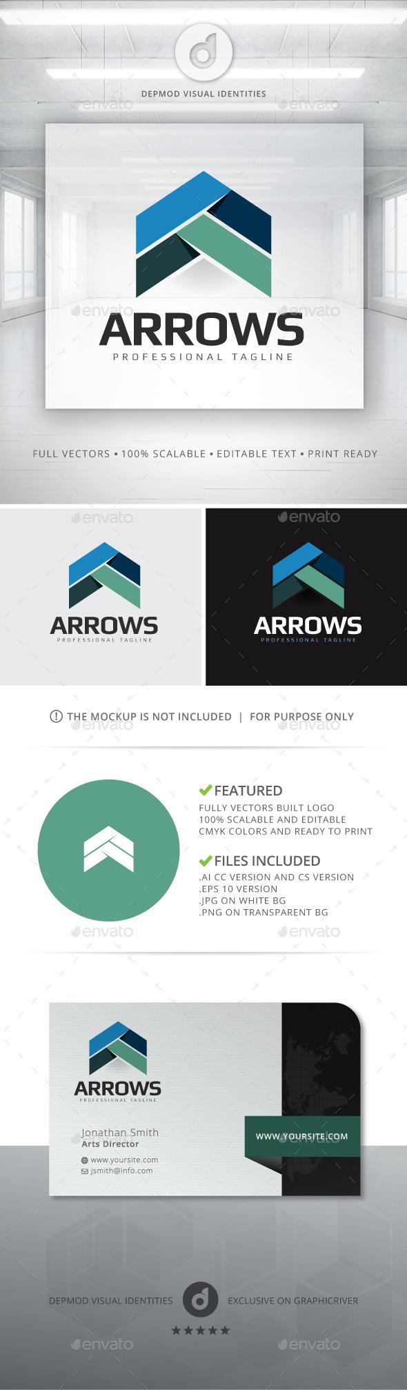 Arrows Logo - Abstract Logo Templates