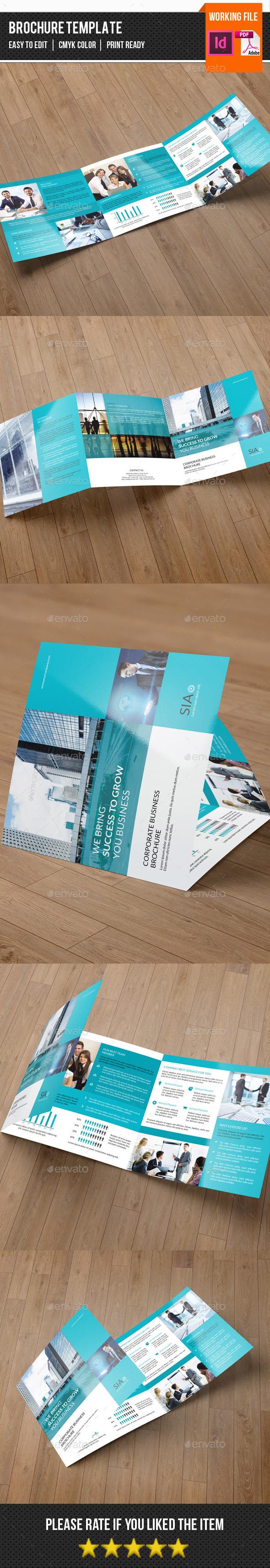 Corporate Square Trifold-v75 - Corporate Brochures
