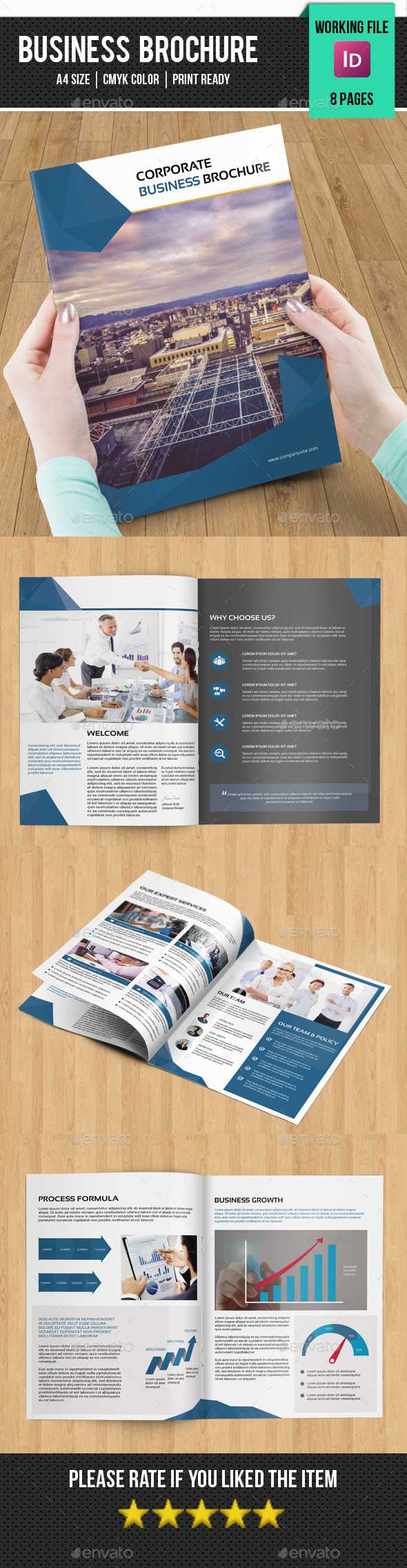 Coporate Bifold Brochure-v208 - Corporate Brochures