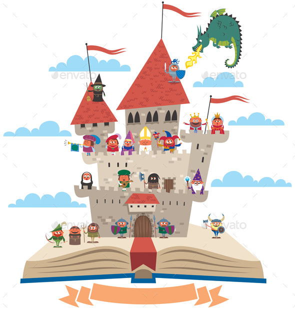 Fairy Tale Book - Conceptual Vectors