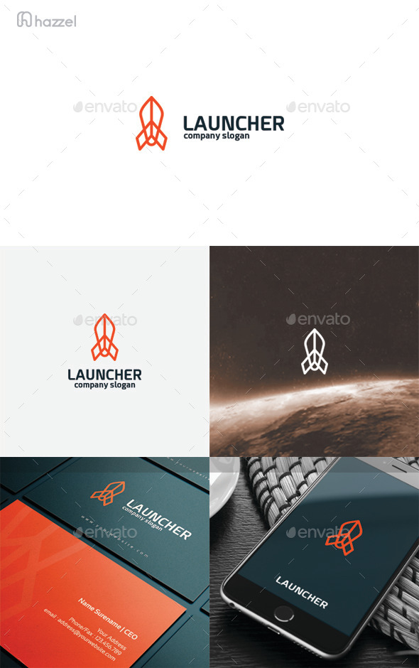 Launcher Logo - Objects Logo Templates