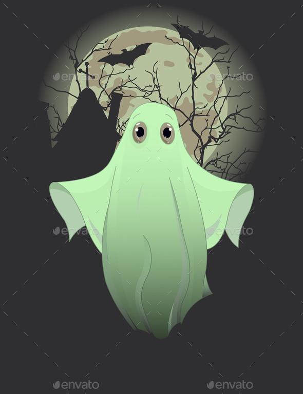 Ghost - Halloween Seasons/Holidays