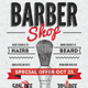 Barber Shop Vintage Flyer/Poster - GraphicRiver Item for Sale