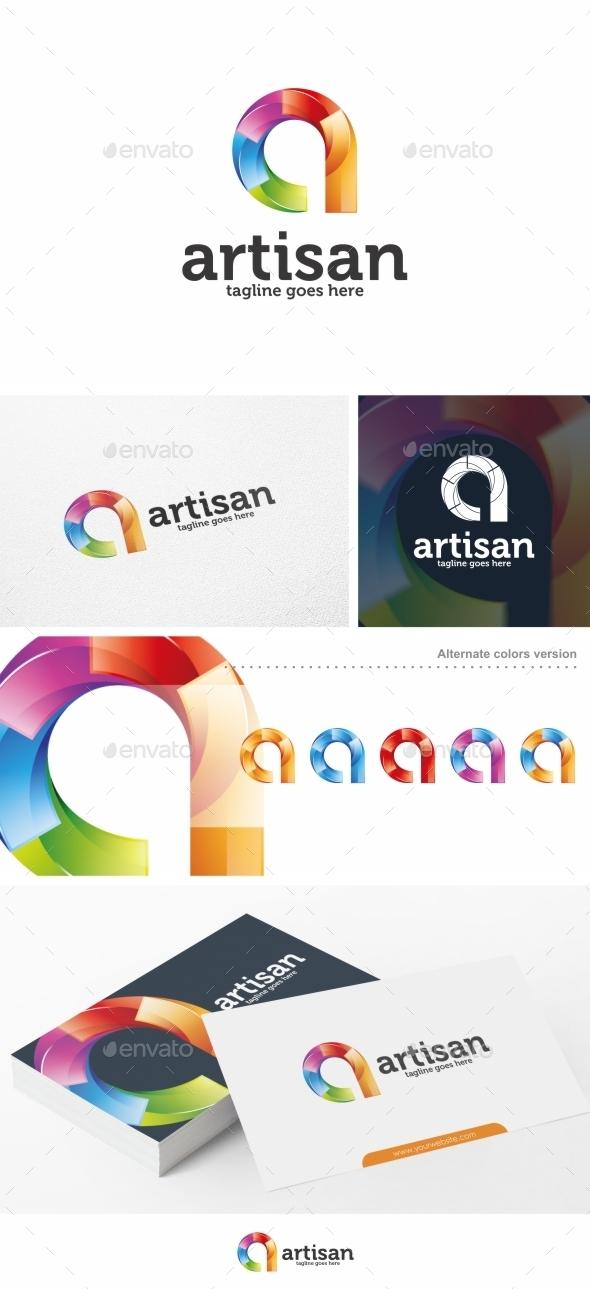 Artisan / Letter A - Logo Template - Letters Logo Templates