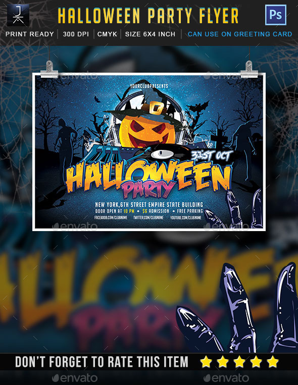 Halloween Party - Print Templates