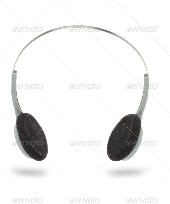 Stereo headphone - Stock Photo - Images