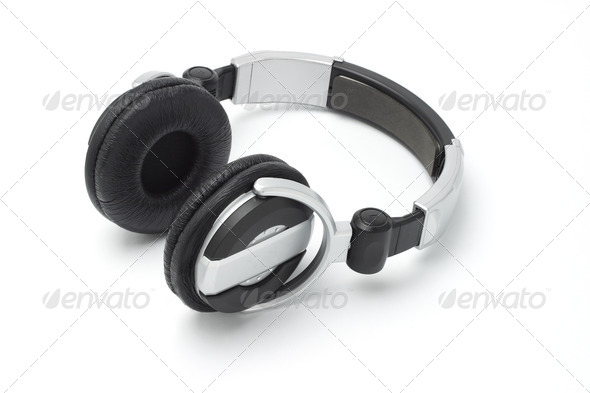 Stereo hifi Headphones - Stock Photo - Images