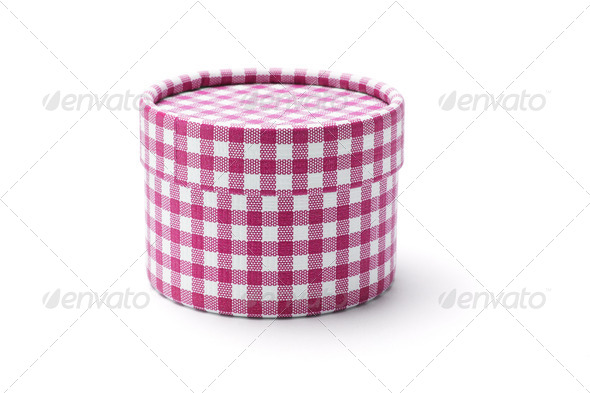 Round gift box - Stock Photo - Images