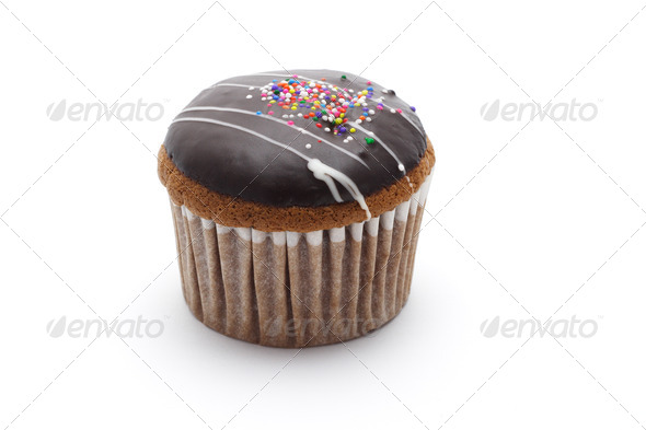 Chocolate cupcake - Stock Photo - Images