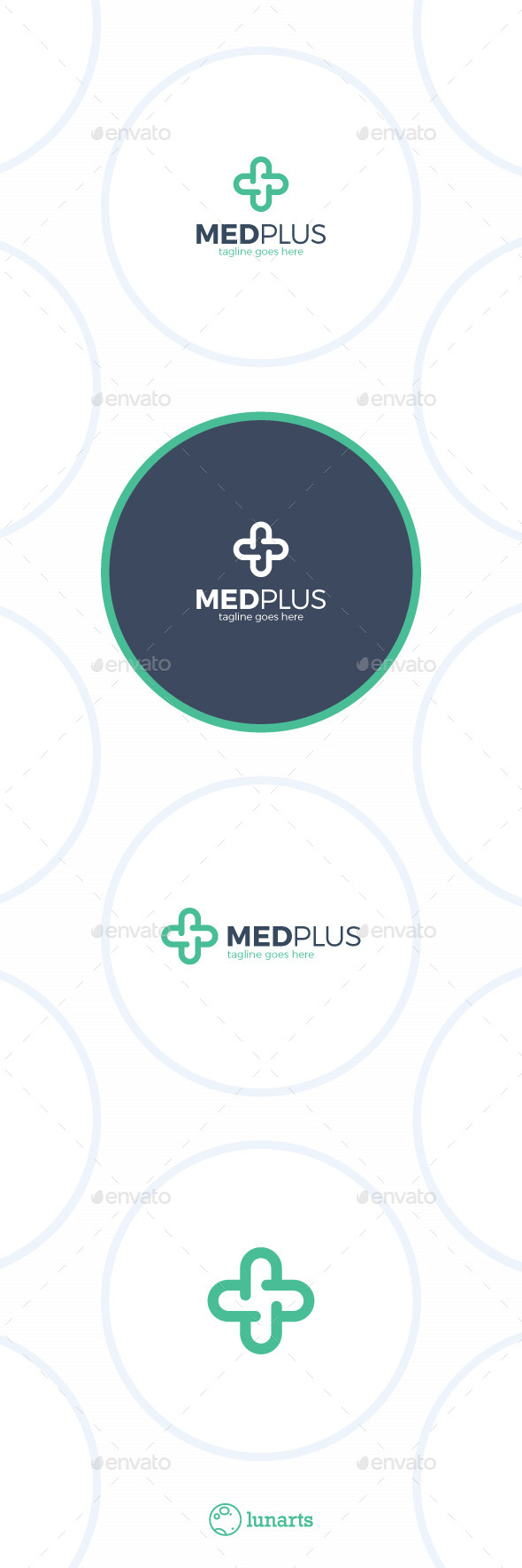 Medical Plus Logo - Two Pill - Symbols Logo Templates