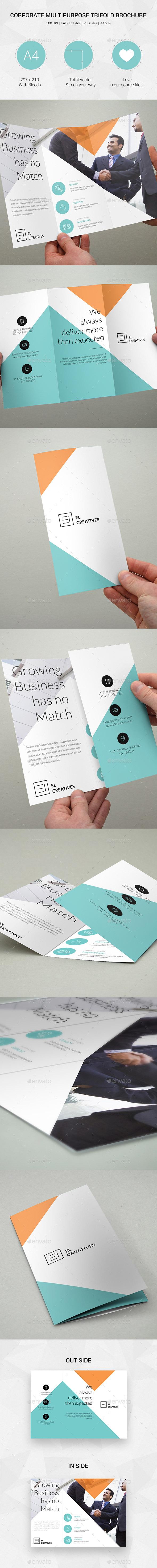 Minimal Creative Trifold Brochure 16