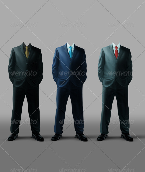 Businessman Template - Business Illustrations