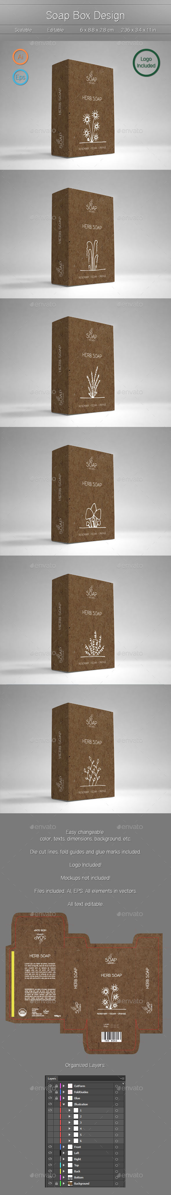 Box Package Design - Packaging Print Templates