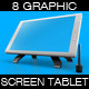 Graphic Screen Tablet Mock Up - GraphicRiver Item for Sale