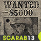 Old Western Vintage Wanted Poster - GraphicRiver Item for Sale