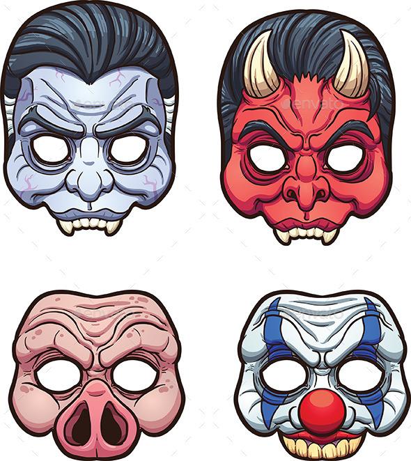 Halloween Masks - Halloween Seasons/Holidays