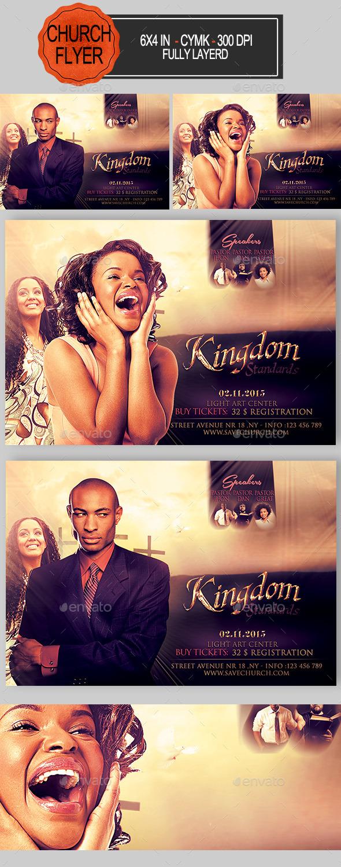Kingdom Standards Church Flyer - Church Flyers