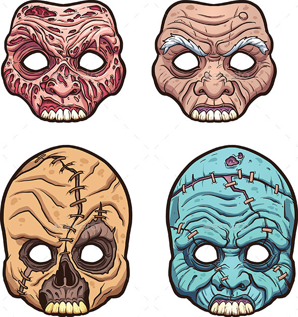Halloween Masks - Halloween Seasons/Holidays