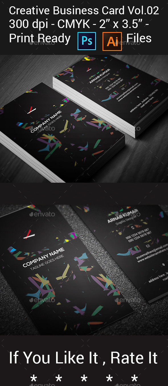Creative Business Card Vol.02