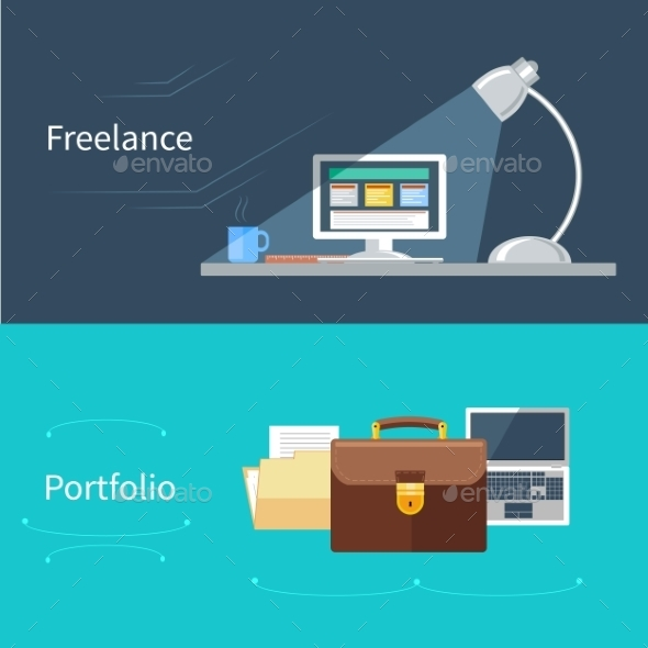 Portfolio And Freelance - Concepts Business