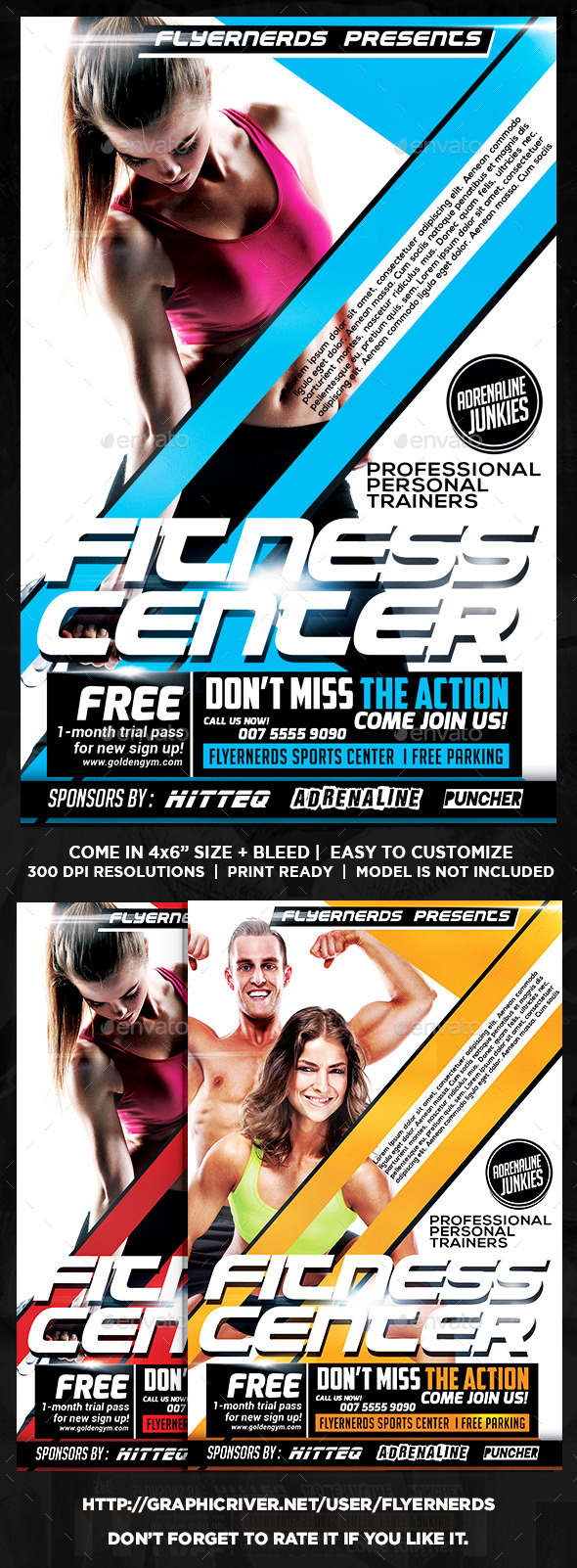 Fitness Sports Flyer - Sports Events