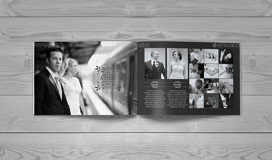 30 Page Wedding Book Template by zoelgebe | GraphicRiver