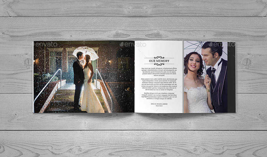 30 Page Wedding Book Template By Zoelgebe