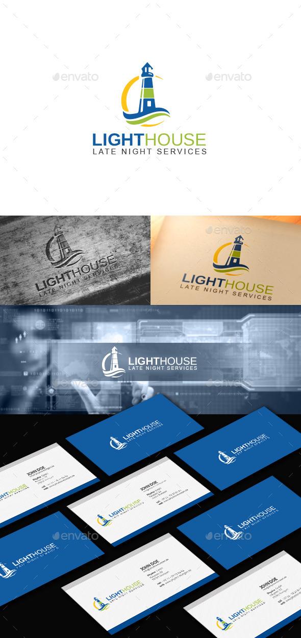 Light House - Buildings Logo Templates