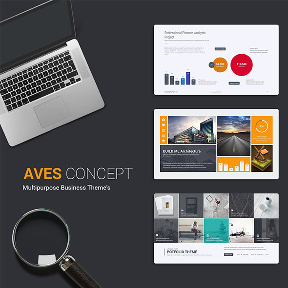 Aves Business Theme - Business PowerPoint Templates