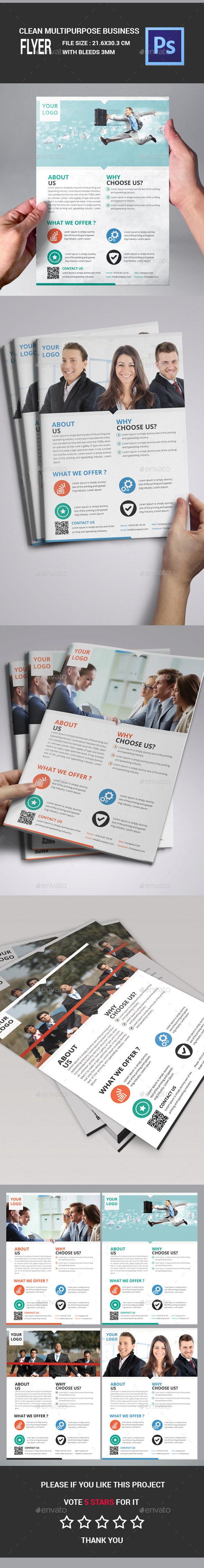Multipurpose Product Flyer - Corporate Brochures