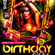 Birthday Party Flyer Konnekt - GraphicRiver Item for Sale