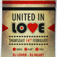 United In Love Flyer - GraphicRiver Item for Sale