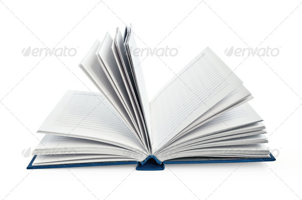Notebook disclosed - Stock Photo - Images