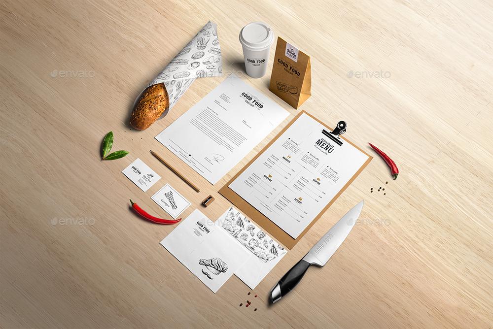 Stationery / Branding Mock-Up Bundle
