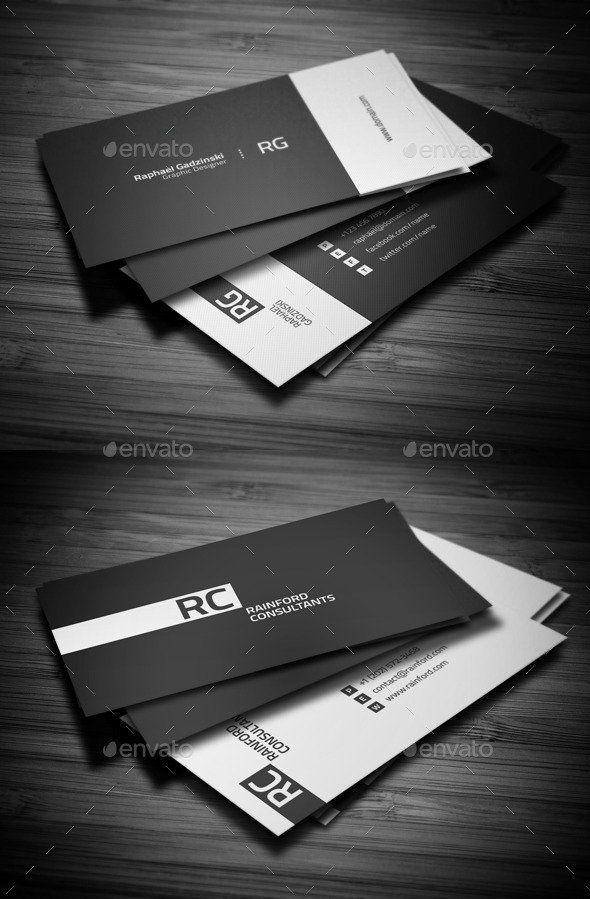 Business Cards Bundle #1 - Business Cards Print Templates