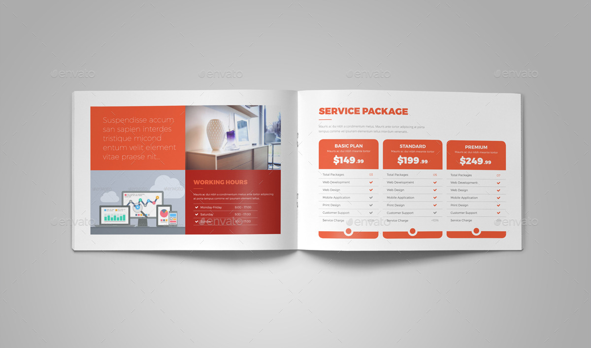 Portfolio Brochure InDesign Template v5 by Jbn-Comilla | GraphicRiver