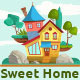 Sweet Home Illustrations - GraphicRiver Item for Sale