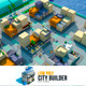 low poly city builder