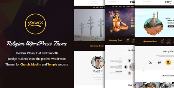 Peace – Modern Responsive WordPress Theme