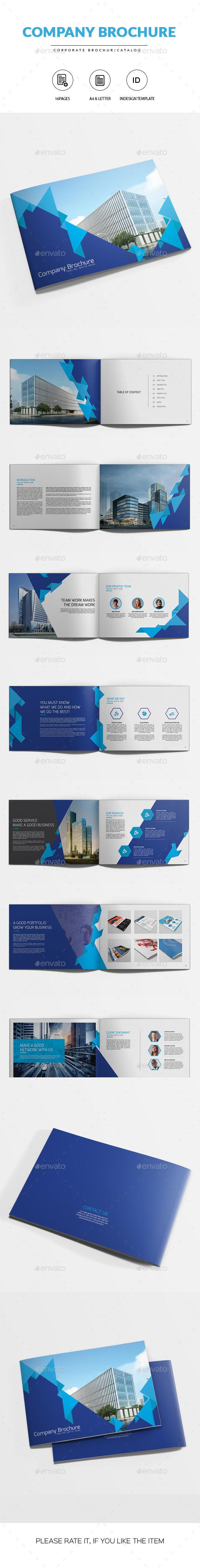 Company Brochure | Indesign Template - Corporate Brochures