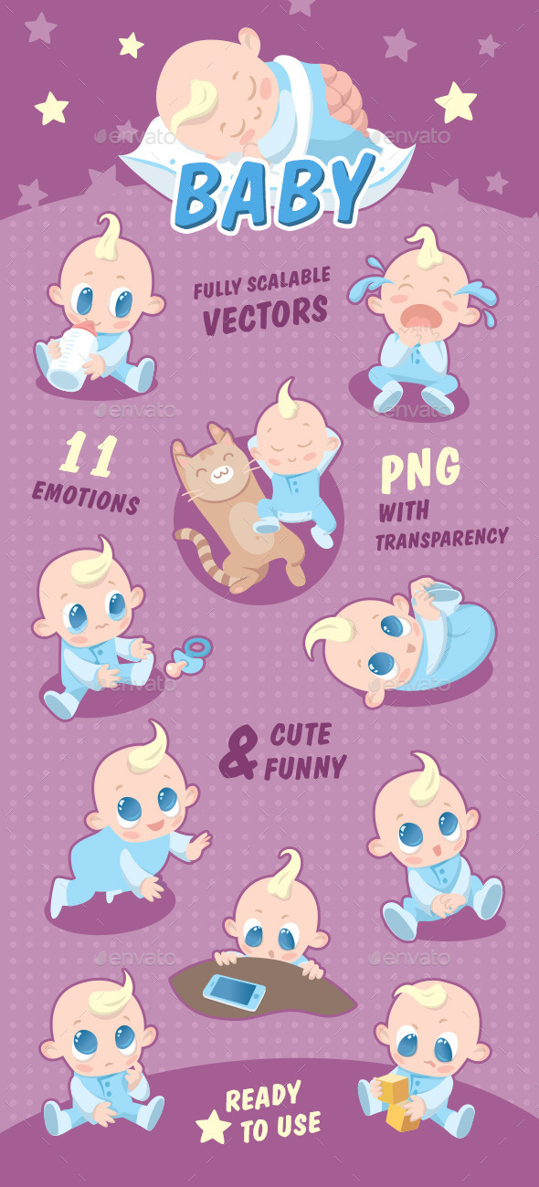 Baby - Animals Characters