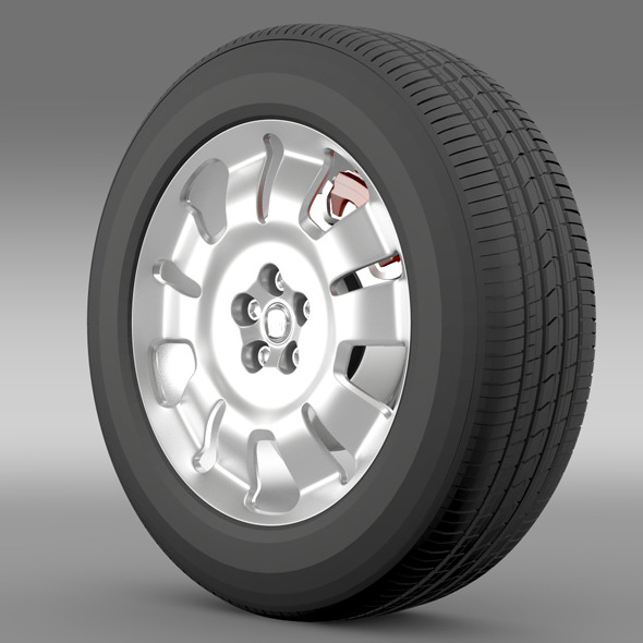 Fiat Doblo Work wheel 2015 - 3DOcean Item for Sale