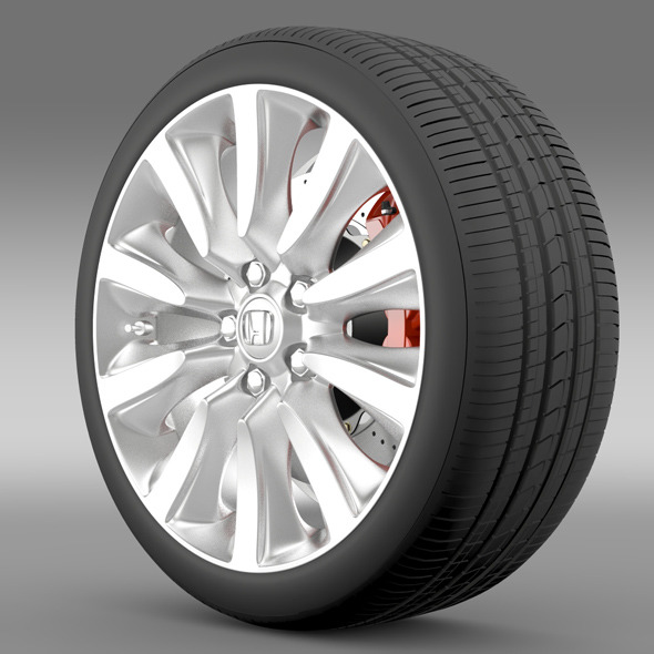 Honda Legend Hybrid wheel 2015 - 3DOcean Item for Sale