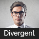 Divergent - Personal Vcard Resume HTML Template Nulled