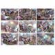 9 JPG files Multi-coloured crystals