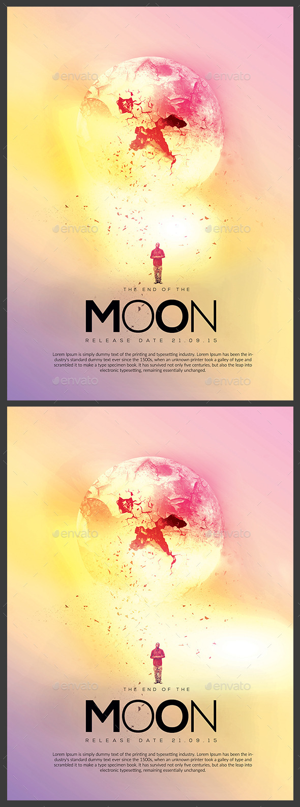 The End of the Moon Flyer Poster