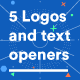 5 Logo and Title Openers - VideoHive Item for Sale