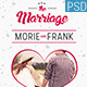 The Marriage Flyer  - GraphicRiver Item for Sale