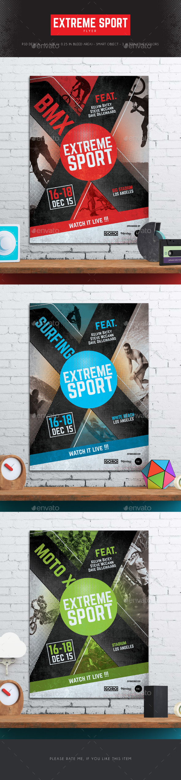 Extreme Sport Flyer