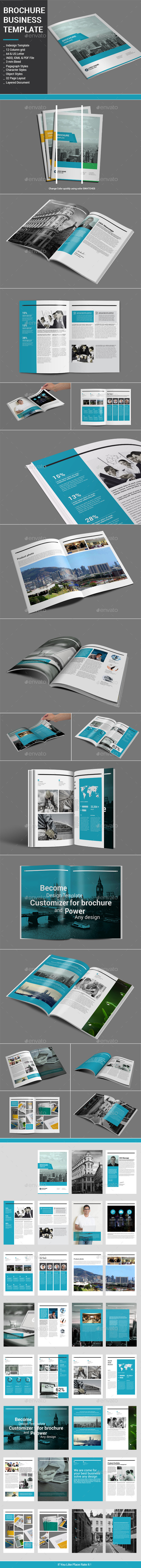 Brochure Business Template - Corporate Brochures